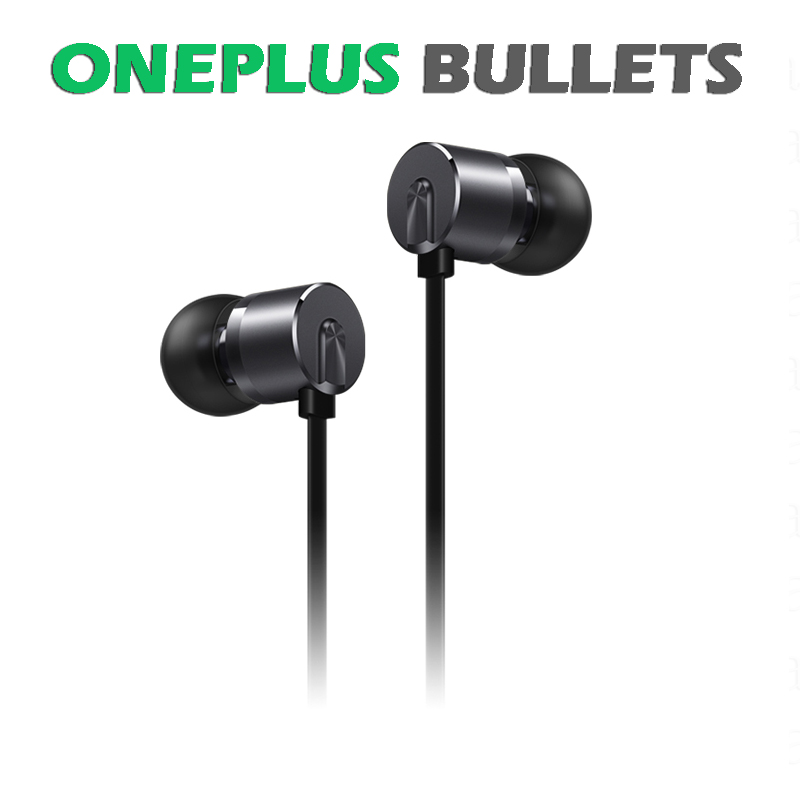 Original OnePlus Bullets Earphones V2 In Ear Earphone for for one plus 3 3T Android 35mm Wired