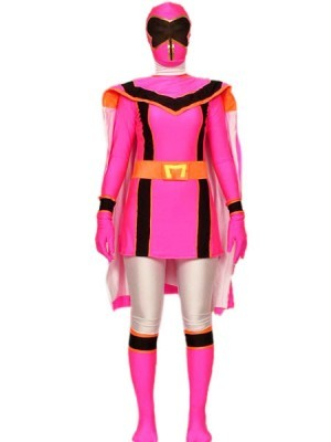 Apologise, but Pink power ranger costume theme, will