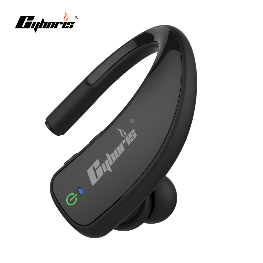 Cyboris Wireless Bluetooth Earphone with Mic Stereo Headphone Bluetooth v4.0 Headset Hands-free Earbud in Car for Phone boas wireless bluetooth earphone hands free earbud earpiece car charger usb headsets with mic 2 in 1 headset for iphone xiaomi