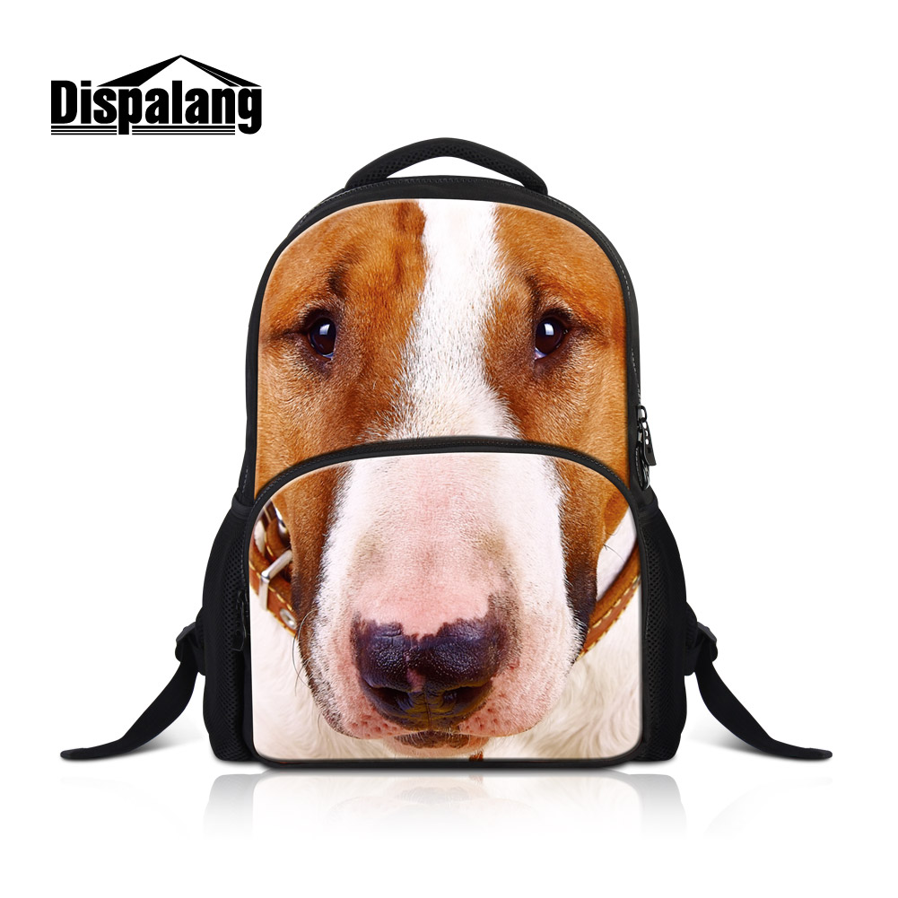 Dispalang Sac A Dos Dog Animal Backpack Cat Printed Schoolbags For Teenage Girls School Bags Canvas High Quality Mochilas Rugtas new laptop us keyboard for ibm thinkpad e545 e530 e535 e530c keyboard