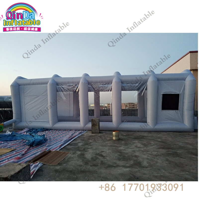 China supplier outdoor portable inflatable garage car inflatable spray paint booth tent for sale free shipping inflatable spray paint garage booth tent high quality 8x4 5x3 meters cabine de peinture gonflable toy tents