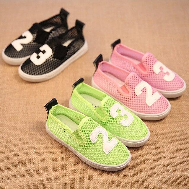 Дети кроссовки девочки мальчики кроссовки дышащий pretwork детская обувь обувь для девочек свободного покроя мальчиков спортивная обувь