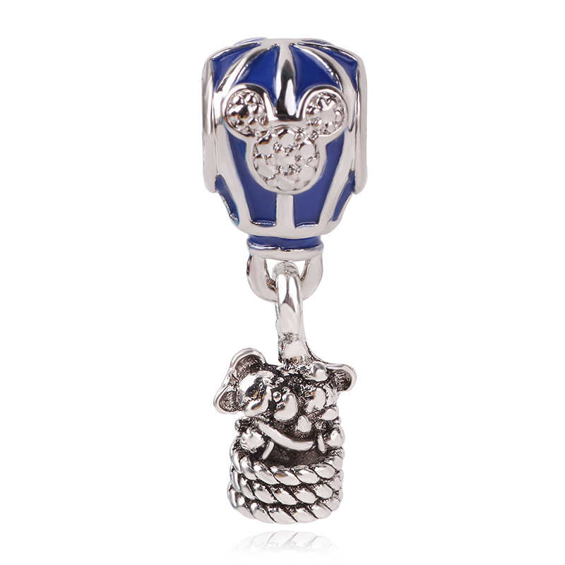 dodocharms 2019 Mother's Day New 925 Silver Girl with Pigtails Dog Beads Charms Fit Original Pandora Bracelet Clip Jewelry