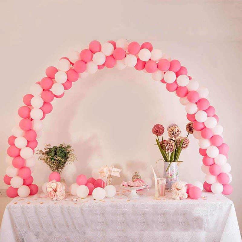 Arco do casamento Estande 1 set DIY Arcos Quadro Cadeia Globos Balões Decoração de Festa de Aniversário Balão Balão Arco Estande Conjunto para partido