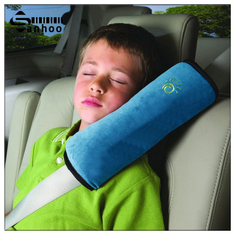 2016 NEW Cotton Car Cushion For Kids Cervical Vertebra Protect Automobile Seat Belts Padding For Child