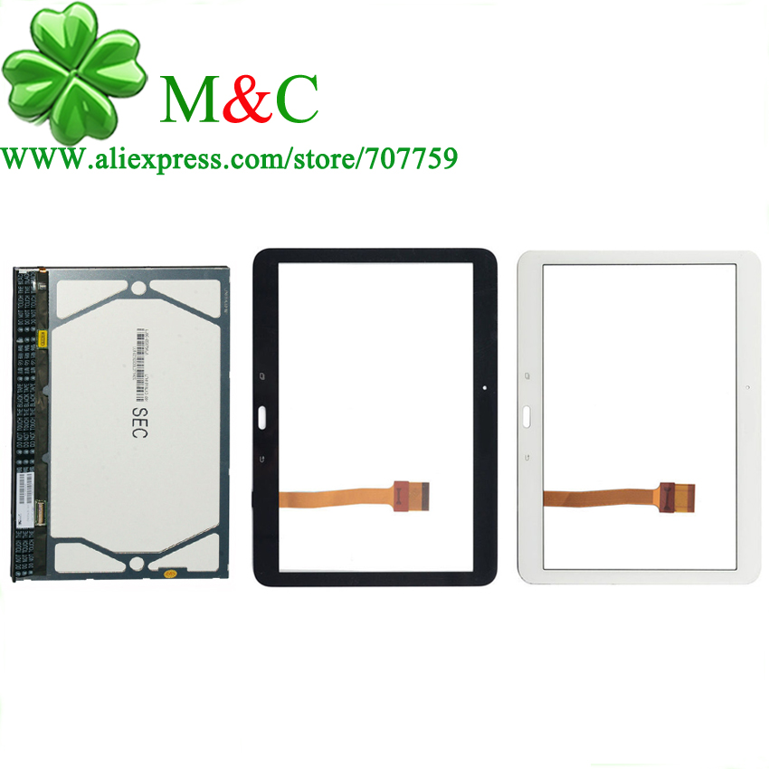 T530 LCD Touch Panel For Samsung Galaxy Tab 4 10.1 T530 T531 T535 LCD Display Touch Screen Digitizer Glass Assembly