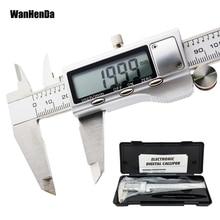 Нержавеющая сталь металл цифровой штангенциркуль 150 мм Высокое качество точные электронные линейка, измерительный инструмент, микрометр