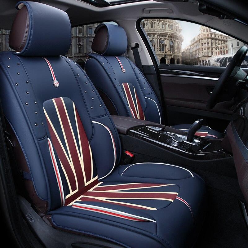 Housse de siège auto housses de protection coussin universel auto accessoires pour Skoda Octavia 1 2 a5 a7 RS Superb 2 3