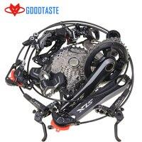 SHIMANO DEORE SLX M7000 Groupset MTB الجبليه Groupset 22-fach 40 t M7000 Schaltwerk Schalthebe أجزاء دراجة 11s 42T 46T