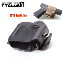 Hunting Tactical  CP style pistol G17 holster GLOCK 19 23 Tactical Airsoft Paintball AR15 Accessories Hunting Shooting Roto Righ tactical pistol carbine kit glock mount for cs g17 18 19 gun accessories load on equipment