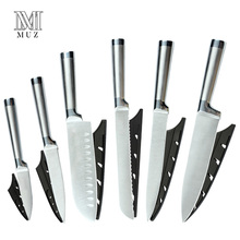 Stainless Steel Kitchen Knives Set Fruit Paring Utility Santoku Slicing Bread Japanese Chef Knife CookingAccessories