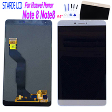 100% New Original LCD For Huawei Honor Note 8 Note8 EDI-AL10 LCD Display With Touch Screen Digitizer Assembly  Repair Part Tools new original lcd screen nl8060bc31 27