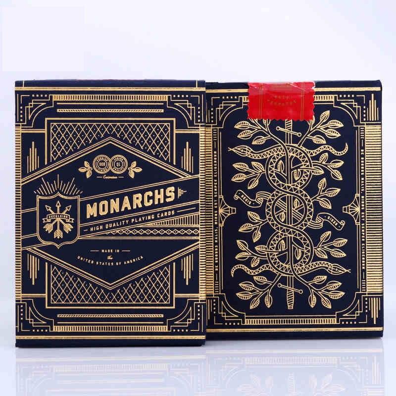 1 Deck Theory11 monarque cartes à jouer monarques Poker pont magique par T11 tours de magie carte magique