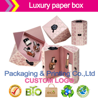 Luxury cosmetics packaging customized Jewelry accessories box