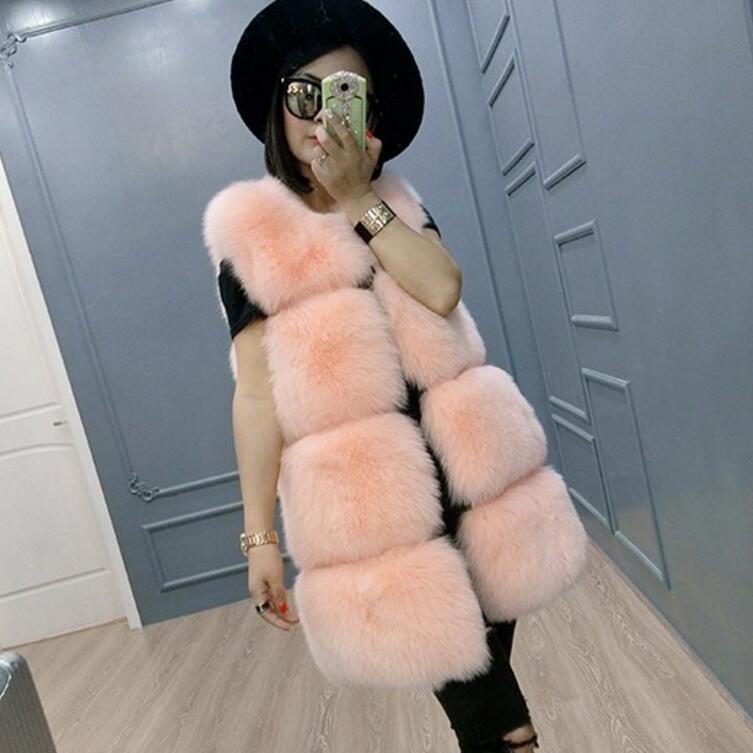 Carré cherry Britannique Long gris Gilet Naturel Pink Fourrure Gros Blanc Européenne Renard Gilets De Mode Style Vraie tBwgqg