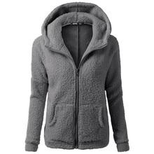 USPS Sportswear Women Hooded Zipper Hoody Sweater Coat Winter Warm Wool Zipper Coat Cotton Coat Outwear Skateboarding Hoodies #