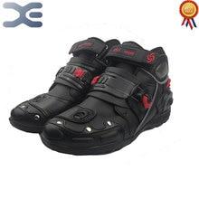 Sapatos De Corrida De moto Off-road Equitação Botas Curtas Motocicleta Quebrar-resistente de Proteção Da Motocicleta Botas