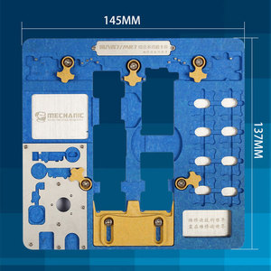 Image 3 - لوحة الدوائر PCB حامل تهزهز تركيبات محطة العمل آيفون XR/8P/8/7P/7/6SP/6S/SE/6P/6/5s/5 المنطق المجلس a7 A12 رقاقة إصلاح