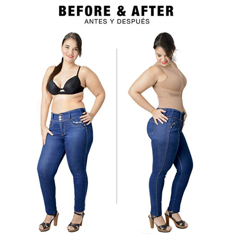 Image 2 - Slimming Bodysuit Body Shaper Post Surgery Seamless  Compression Garment Full Shapewear Colombianas Reductoras-in Bodysuits from Underwear & Sleepwears
