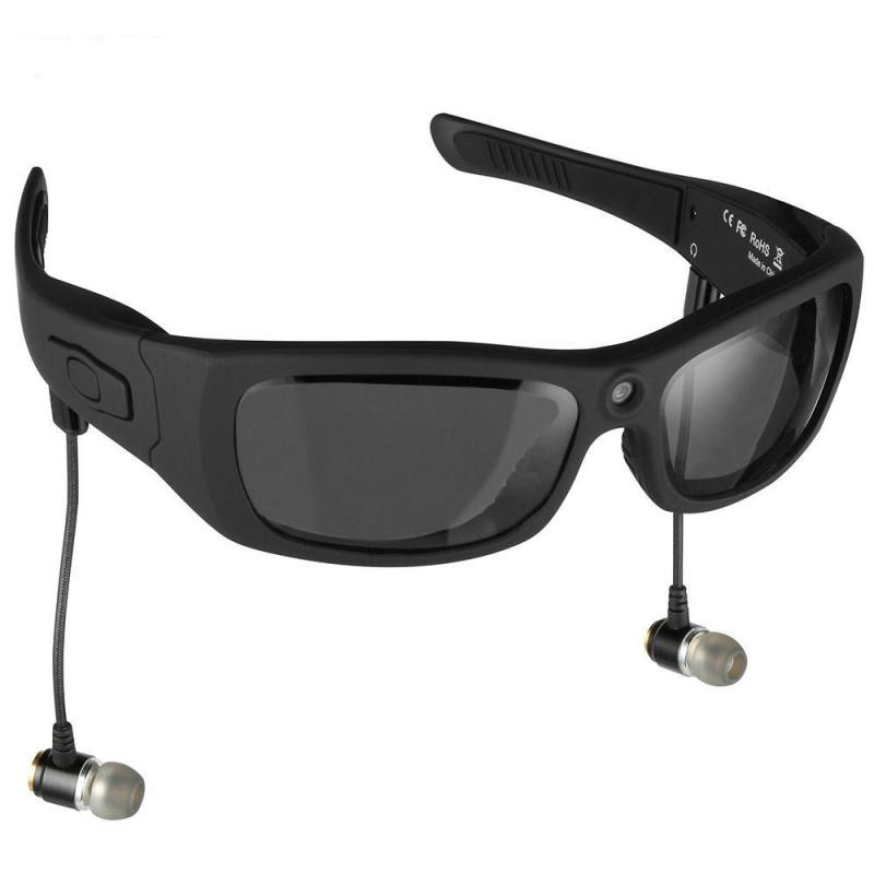 Eyewear Sunglasses Mini Camera Support Tf Card Video Recorder Dvr Mp3 Camcorder Music Glasses with Bluetooth Headset H3