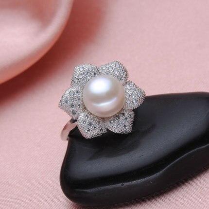 pearl jewelry ring set