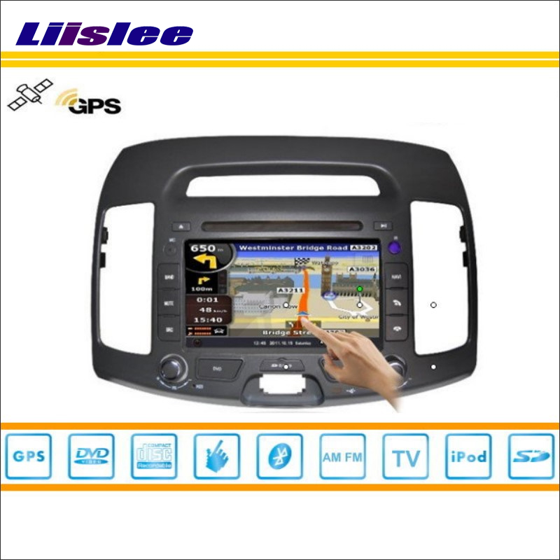 Liislee For Hyundai Avante 2007~2010 Radio CD DVD Player Stereo TV iPod HD Screen GPS Nav Navi Map Navigation Multimedia System