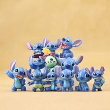 3cm 12 pièces point Mini jouets Figure Anime point Action Figure noël cadeaux et poupées accueil fête approvisionnement décoration MicroToys