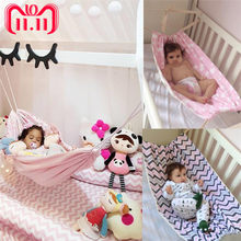 New Baby Infant Hammock Home Outdoor Detachable Portable Comfortable Bed Kit Camping Cartoon princess Hanging Sleeping Bed(China)
