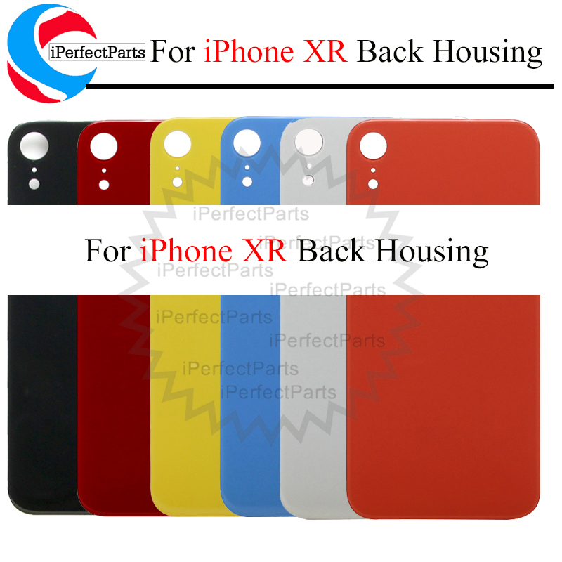 Housing-Case-Repair-Replacement-Part Back-Battery-Cover Glass-Panel iPhone XR for Rear