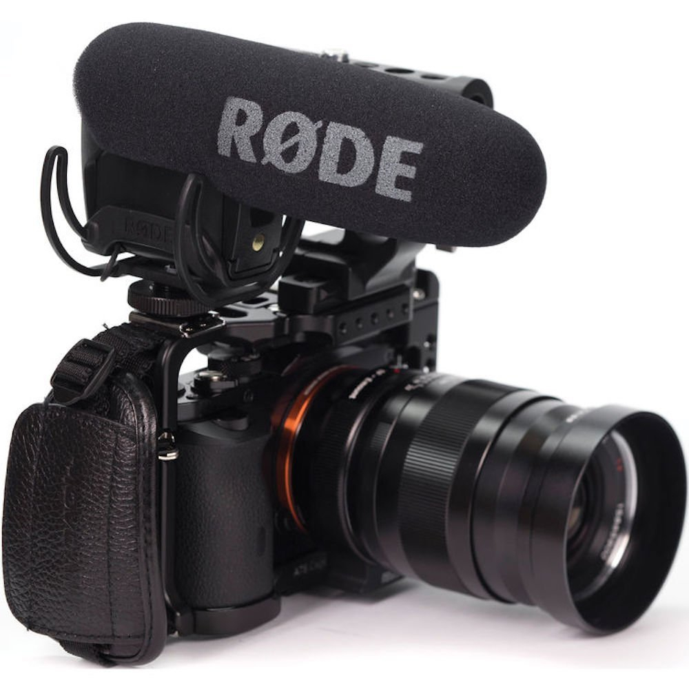 Rode VMPR VideoMic Pro R with Rycote Lyre Shockmount Microphone for Canon Nikon Lumix Sony DJI Osmo DSLR Camera Microfone dji osmo pro raw focus handwheel for osmo pro osmo raw inspire 2 focus controller flip control knob original accessories