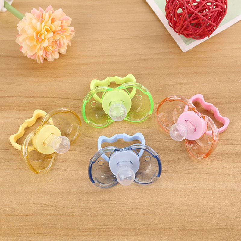 ITAAR Baby Teether Nipple Infant Automatic Closing Pacifier Sleep Calm Mouth Teether Gum ...