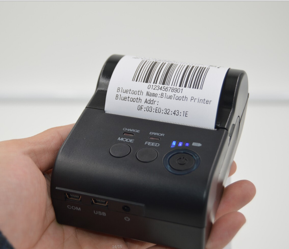 Mini bluetooth USB serial port Receipt Printer 58 mm wireless bluetooth thermal printer mobile printer for Android windows serial port best price 80mm desktop direct thermal printer for bill ticket receipt ocpp 802