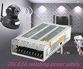 Led Fuente de Alimentación Conmutada 24 V 8.5A 200 W AC100V/220 V al Transformador DC24V Llevó el adaptador de Controlador Led tiras de luz