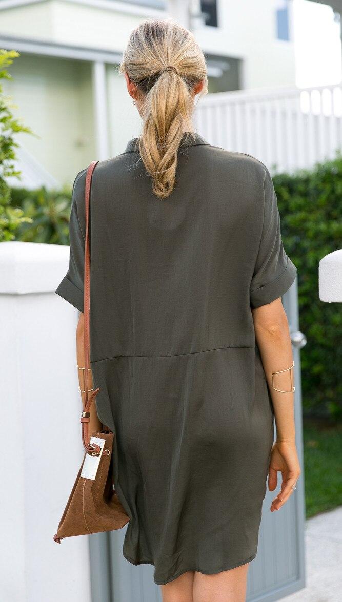 84cd54dac1 Camisa de Vestir de alta Moda Mujeres Chic Mangas Dolman Casual vestido de festa  feminino Monos Del Verano Del Partido Del Estilo de Boho Vestidos De ...