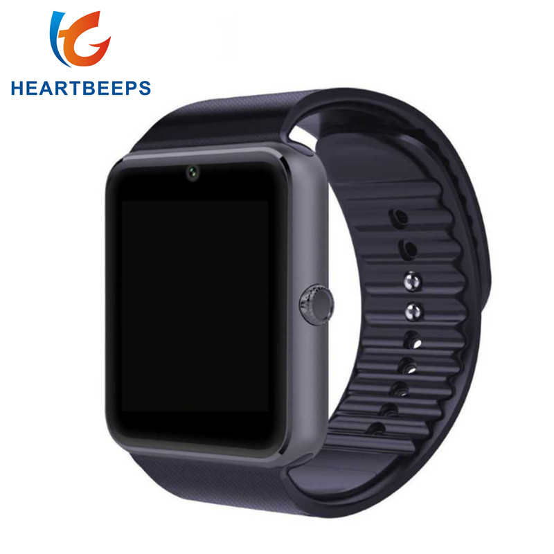 GT08 Smart Watch Clock Hours Sync Notifier Support SIM TF Card Camera Connectivity Android Phone Smartwatch
