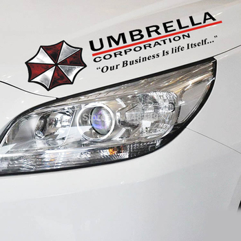 Car-styling Umbrella Corporation Car Sticker Sports Mind Eyelid Decal for Bmw E39 Ford Focus Vw Polo Skoda Golf Audi Opel Toyota 180sx led ヘッド ライト