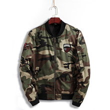 Military Camouflage Men's Jacket Long Sleeve Men Coats & Jackets Tactical Camo Army Men's Clothing Male Slim Outerwear & Coats