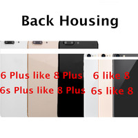 Chassis Back Housing Battery Cover Fundas For IPhone 6 6S Like 8 Or 6 6S Plus
