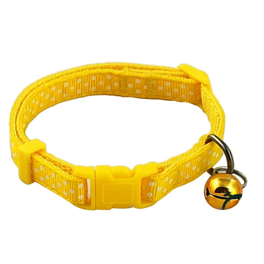 Small Pet Collar Yellow