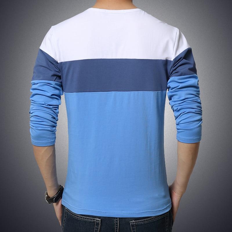 Suvine meeste särk 2017 uus moe triibuline T-särk meeste riided - Meeste riided - Foto 3