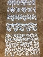 Best selling African Lace Fabric For Wedding 2017 Embroidered France mesh Lace Fabrics African swiss voile lace