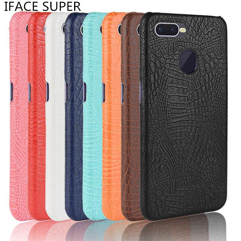 OPPO F9 Case Cover Luxury Crocodile Skin PU Leather Cover Phone Case For OPPO F9 F 9 PRO F9Pro CPH1823 CPH1825 CPH1881 CPH1828