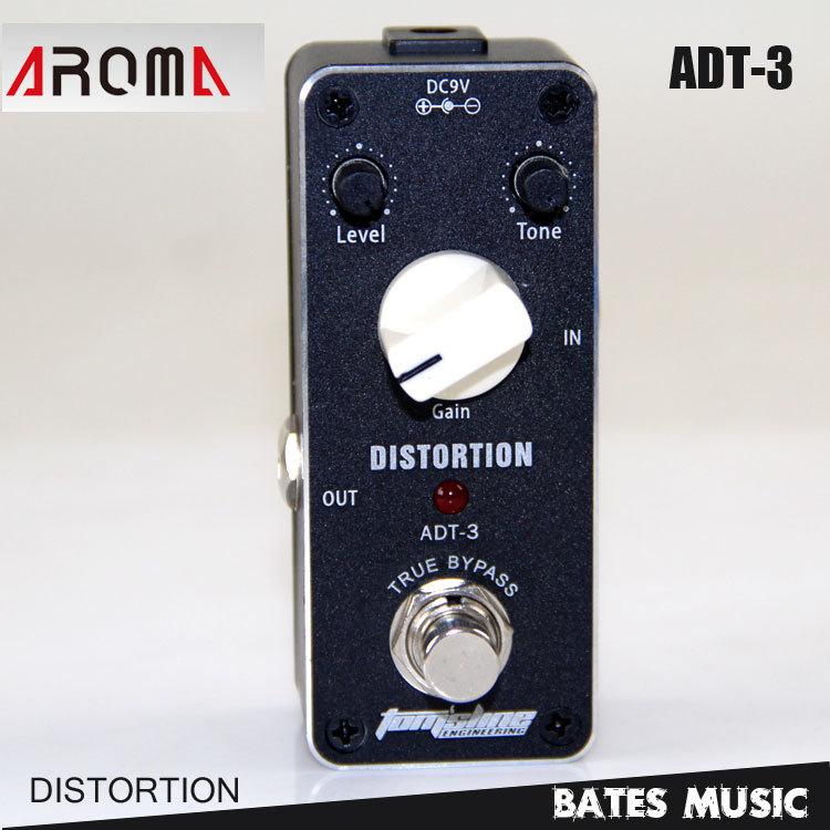MINI Effect Pedal/Aroma ADT-3 Distortion AC/DC Adapter Jack True bypass guitar pedal mini effect pedal aroma adt 3 distortion ac dc adapter jack true bypass guitar pedal