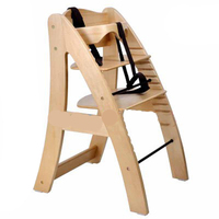 Multifunctional A shaped type large guardrail baby seat child dining chair high chair height adjustable