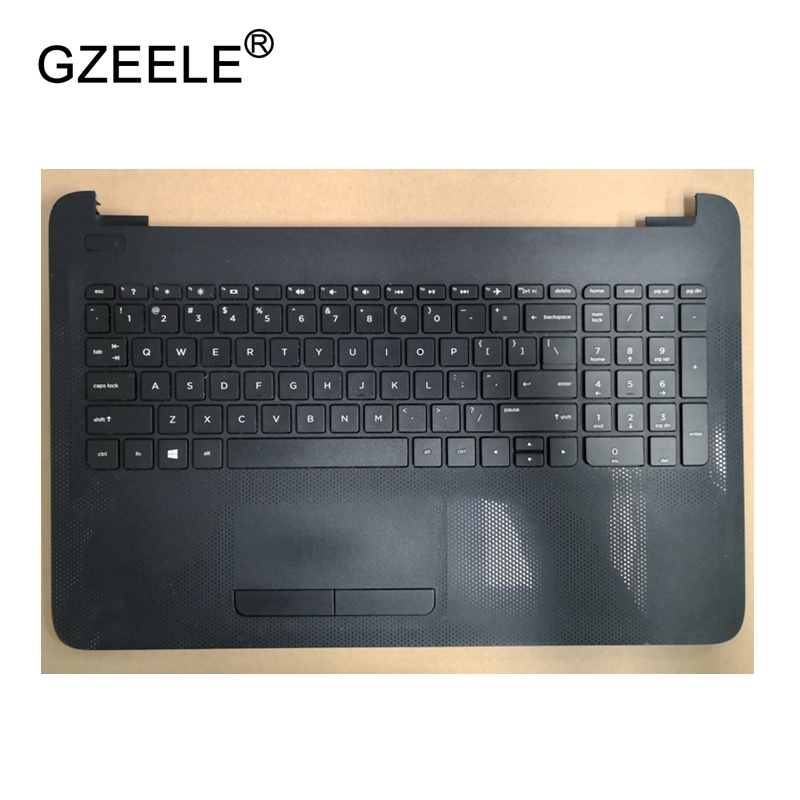 все цены на GZEELE English Laptop keyboard For HP 250 G4 256 G4 255 G4 15-ac 15-ac000 15-af 15-af000 with palmrest Upper cover BLACK