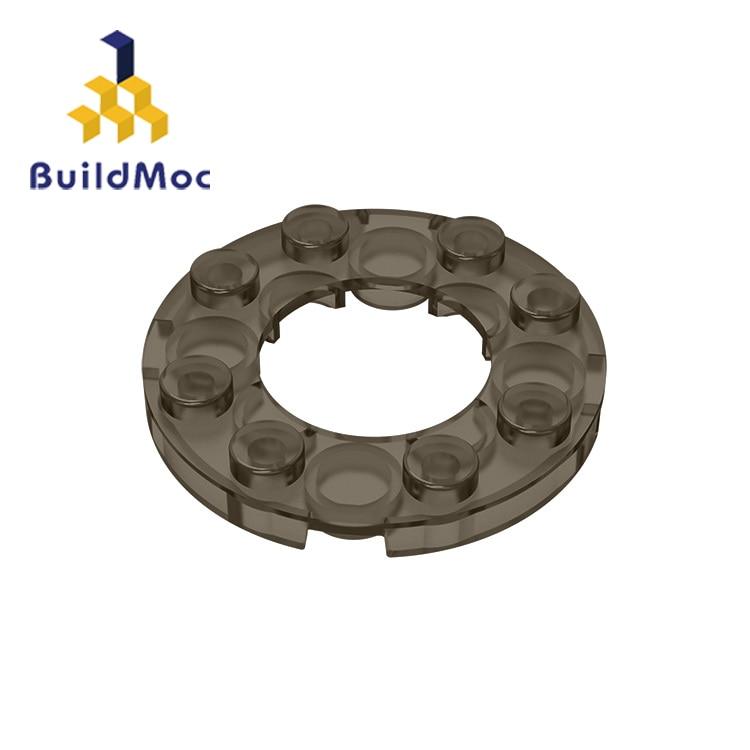 BuildMOC Compatible Assembles Particles  11833 4x4 For Building Blocks Parts DIY LOGO Educational Creative Gift Toys