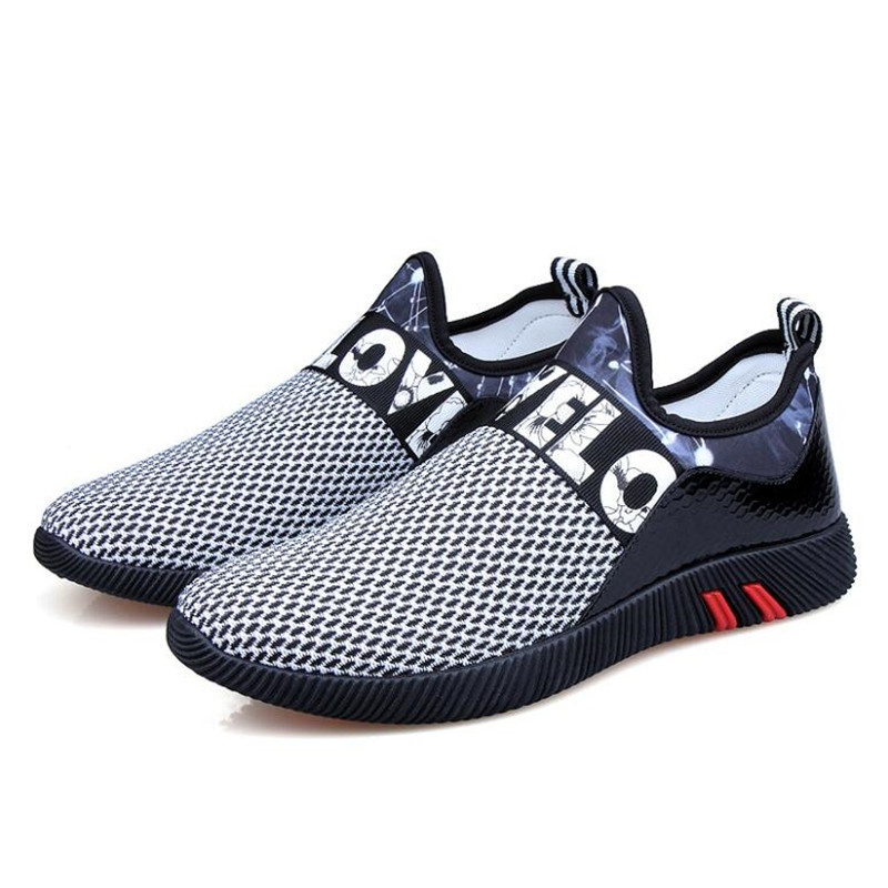 2018 new breathable mesh summer men's casual shoes non-slip men's - Men's Shoes