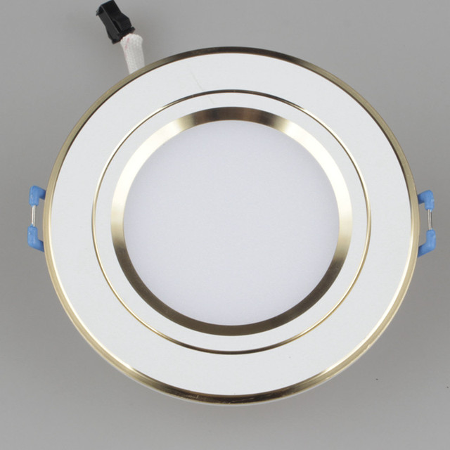 LED Color Downlight 6W Dimmable Ceiling Lamp AC85 265V Changing ...