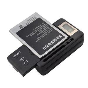 Image 1 - Neueste Design Universal ladegerät mit LCD Einstellbar für Canon Nikon Sony Kamera HTC Samsung handy Batterie
