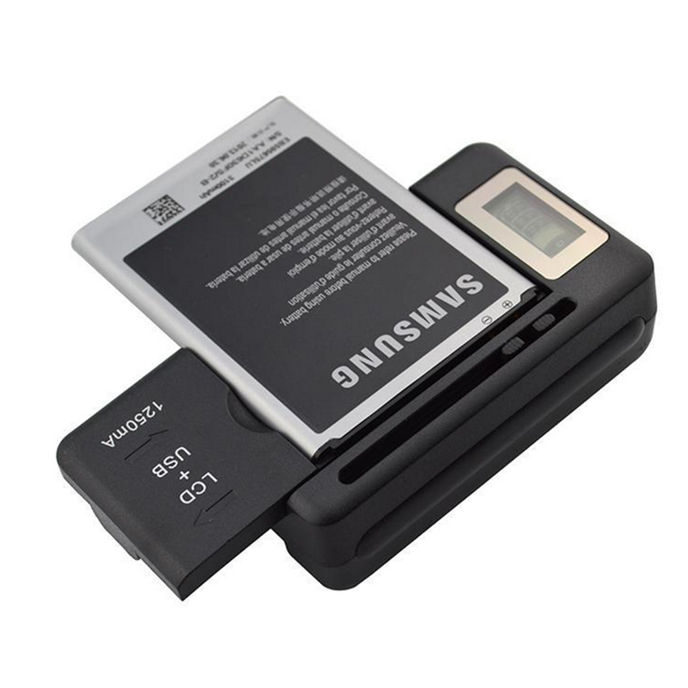 Newest Design Universal Charger with LCD Adjustable for Canon Nikon Sony Camera HTC Samsung Mobile phone Battery